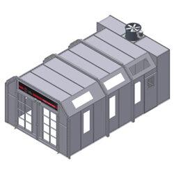GP Crossdraft Non Pressurized Booth