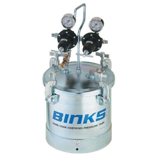 Binks 2 Gallon Zinc Pressure Tank