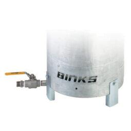 Binks Bottom Outlet Pressure Tank