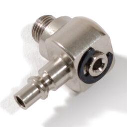03 012 PMS 1 4 Inch Plug to 1 4 Inch NPT Male Swivel