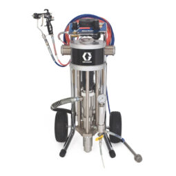Merkur AA Cart Mount G15 Spray Gun Package