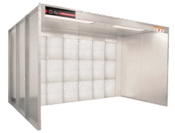 Products Feature Open Face Booth