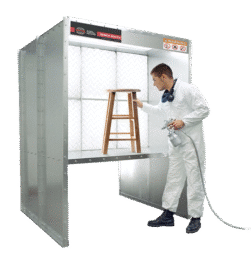 Products Paint Booths Bench Booth