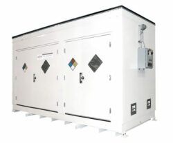 Hazardous Material Storage Room