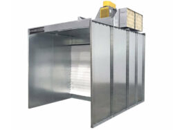 Powder Non Recovery Booth