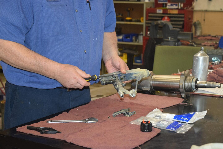 Electrostatic Gun Service Photo